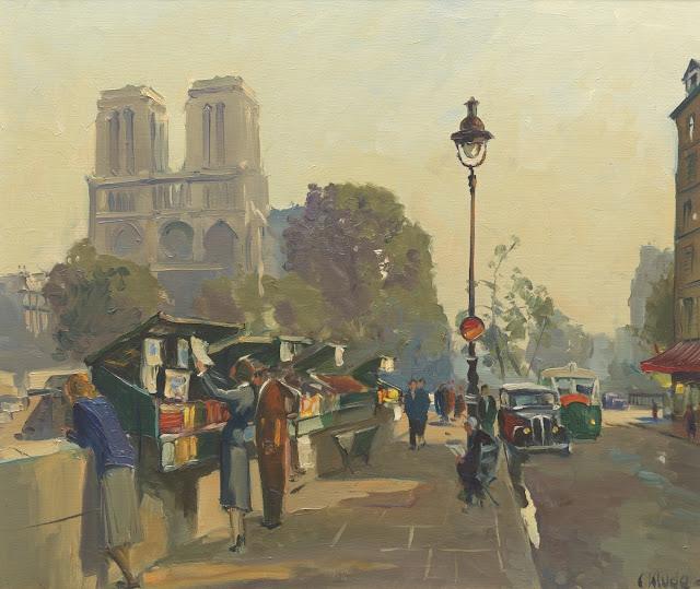Constantin Kluge - Parisian Scene
