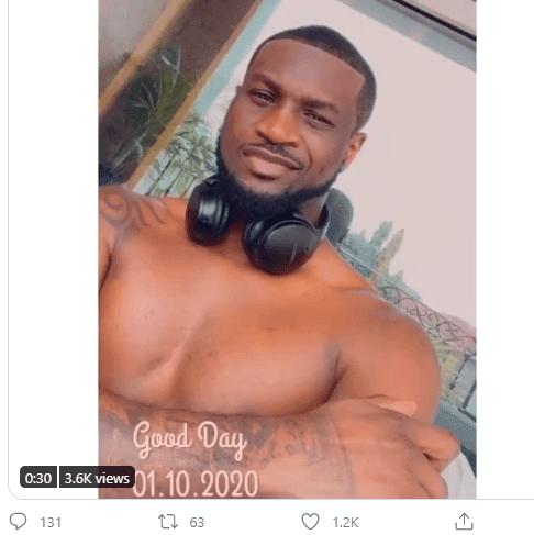 Psquare Peter Okoye blast Twitter user who try to mock him