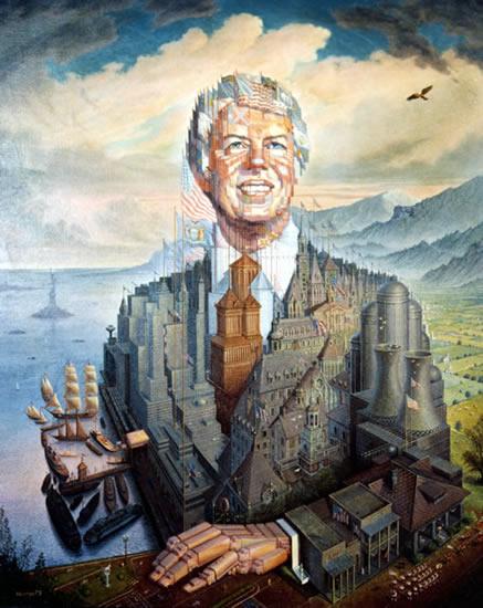 Jimmy Carter - Octavio Ocampo e Suas Pinturas Cheias de Ilusões