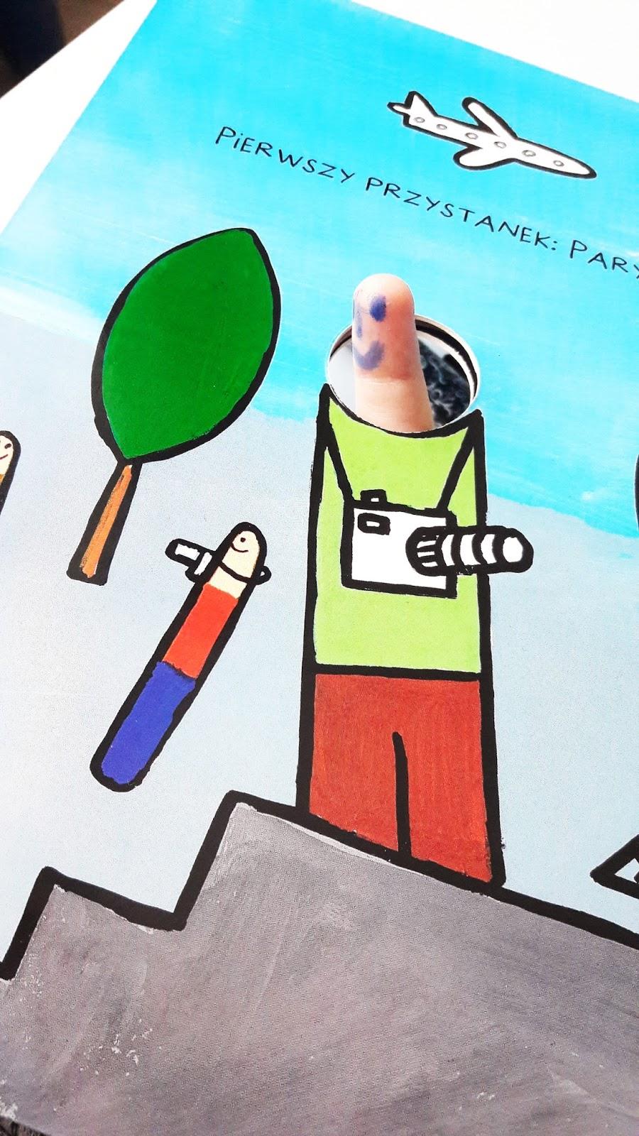 paluszkowa wyprawa robaczki Hervé-Tullet - wydawinctwo insignis - robimy zdjęcia