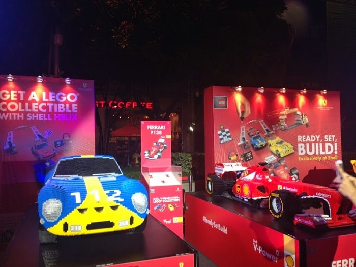 New Shell V-Power LEGO Ferrari Collection Exhibition