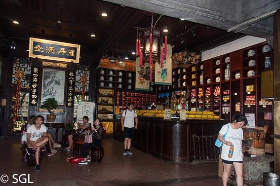 Hangzhou y la farmacia mas antigua del mundo. Un dia en Hangzhou