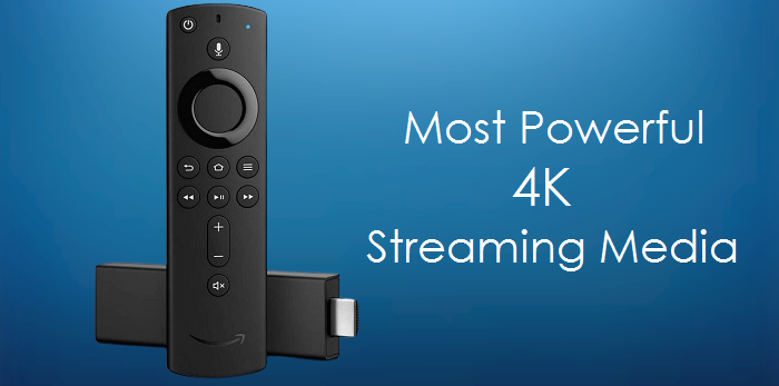 Fire TV Stick 4K Streaming Device With Alexa