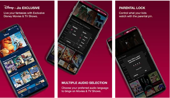 jio cinema for pc features
