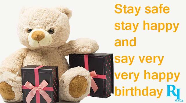 happy birthday in lockdown