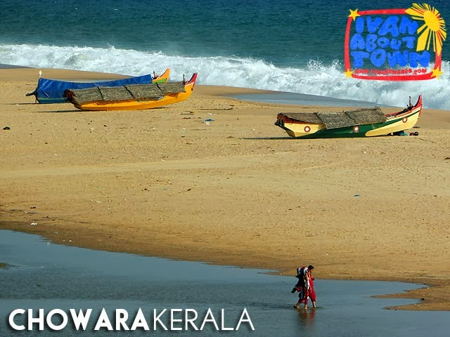 Chowara Beach, Kerala, India