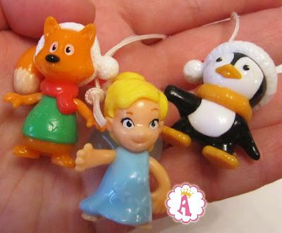 Пингвин, фея и лисичка Kinder Surprise