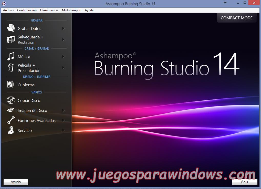 Ashampoo Burning Studio v14.0.5.10 Full PC ESPAÑOL 6