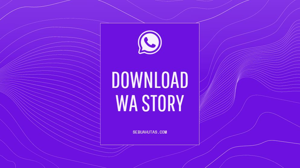 cara download wa story