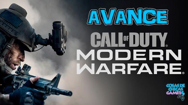 Avance Call of duty modern warfare ps4