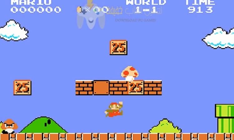 تحميل لعبة ماريو القديمة للكمبيوتر برابط مباشر من ميديا فاير