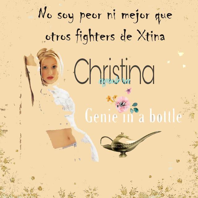 No soy peor ni mejor que otros fans de Christina aguilera