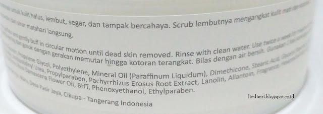 Fanbo body scrub