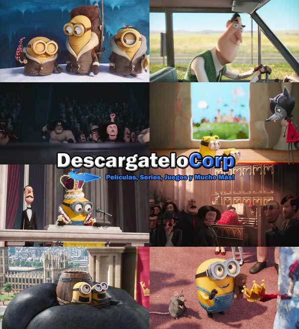 Los Minions DVDRip Latino