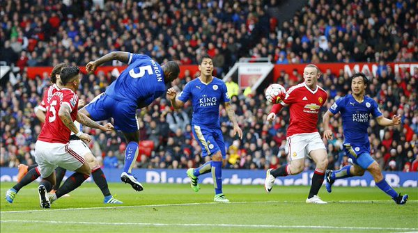 manchester united leicester 1-1