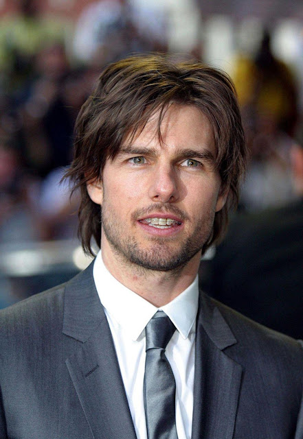 Tom Cruise Sexy Bedhead Hairstyle