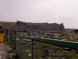 Travelog Turkey Pamukkale National Park Theatre of Hierapolis