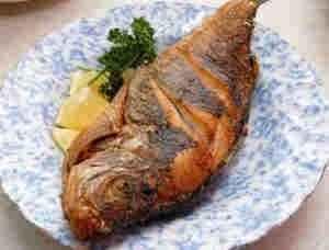 سمك بلطى مقلى
