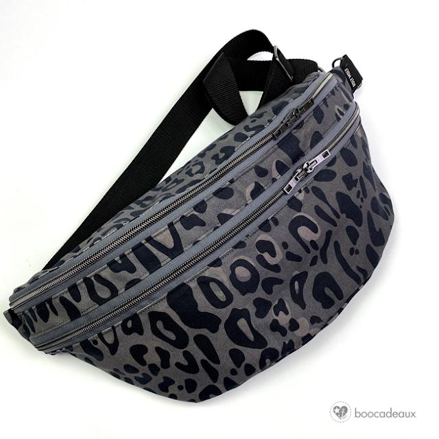 genähte Crossoverbag Bauchladen von Leni Pepunkt aus Leo Canvas