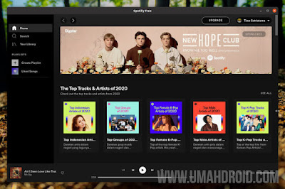 Menjalankan Aplikasi Spotify di Ubuntu