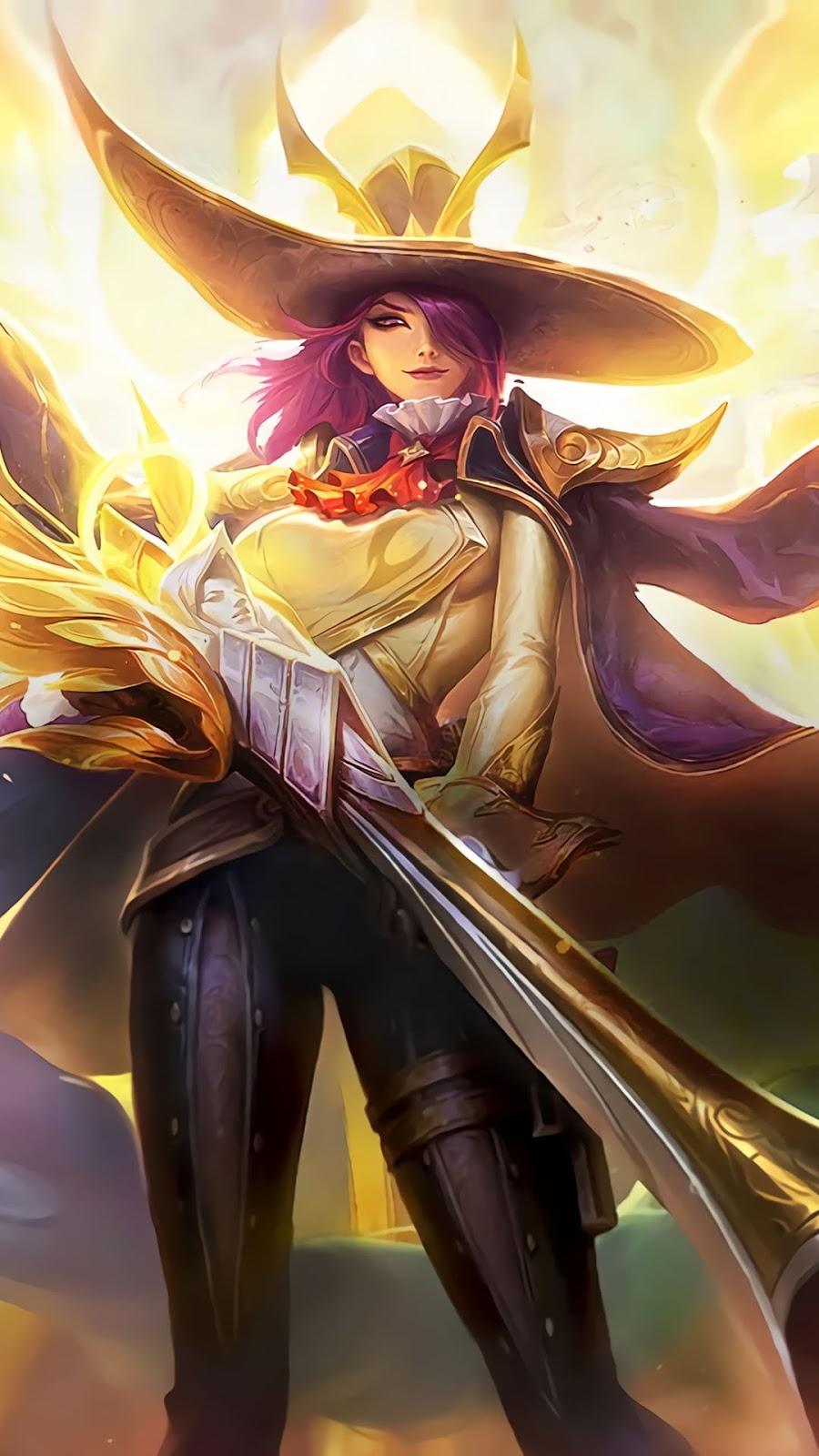 Wallpaper Lesley Angelic Agent Skin Mobile Legends HD for Android and iOS