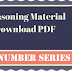 Number Series Question and Answers Reasoning PDF Download