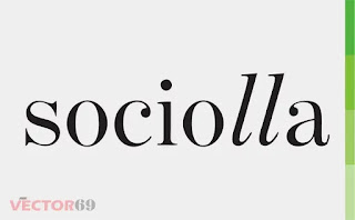 Logo Sociolla - Download Vector File CDR (CorelDraw)
