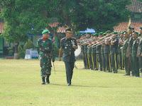115 Bintara Resmi Sandang Predikat Prajurit Infanteri