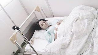 Shalani Tharak hospitalized in Japan