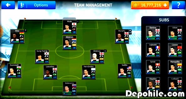 Dream League Soccer 2020 Newcastle United Yaması Hepsi 100