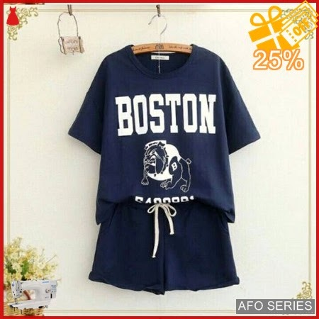AFO065 Model Fashion Boston Stelan Modis Murah BMGShop