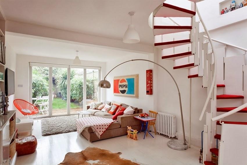 Wesołe mieszkanie w stylu skandynawskim, wystrój wnętrz, wnętrza, urządzanie domu, dekoracje wnętrz, aranżacja wnętrz, inspiracje wnętrz,interior design , dom i wnętrze, aranżacja mieszkania, modne wnętrza, styl skandynawski, scandinavian style, styl nowoczesny, czerwone dodatki