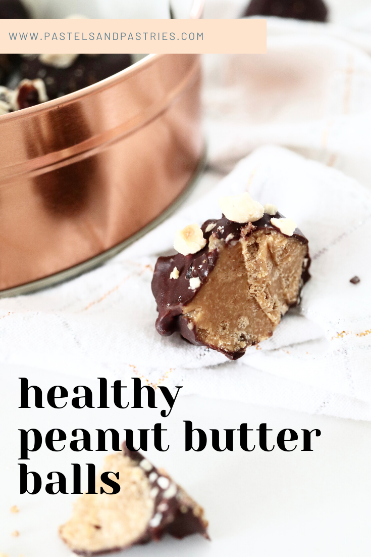 healthy peanut butter balls