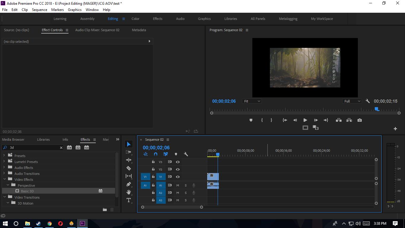 Cara Cepat Mengatasi Size Gambar Video Pada Sequence Di Adobe Premiere Pro Ilmu Gratis Gan