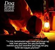 Doa Sewaktu Bersujud