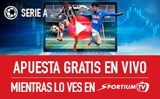 "sportium promocion Serie A ""En Vivo"" jornada 29"