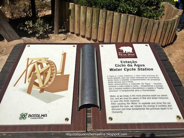 PIA DO URSO, Eco-Parque Sensorial, Estações Sensoriais