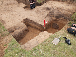 WW1 trenches archaeologically excavated