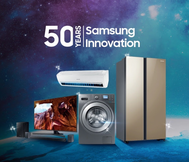 @SamsungSA Electronics Commemorates Its 50th Anniversary #GoldenJubilee