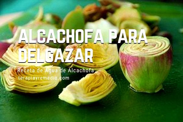 El Agua de Alcachofa para Adelgazar promueve la pérdida de peso evitando la retención de líquidos