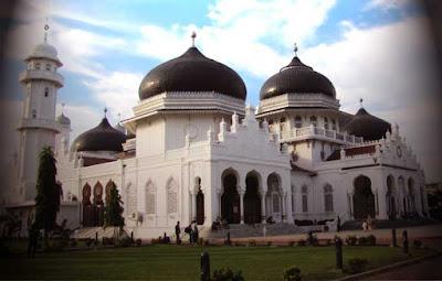 Salah satu Masjid di Aceh peninggalan sejarah Islam