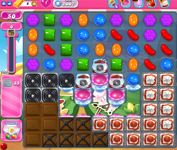 Candy Crush Saga 2007