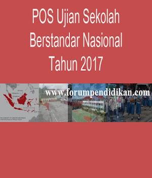 POS Ujian Sekolah Berstandar Nasional Tahun 2017