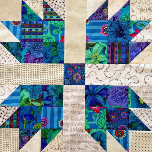 Scrappy Bear Paw Quilt - Free Block Instructions