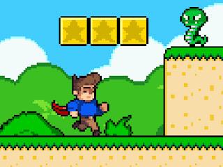 Jogo online grátis Super Steve World