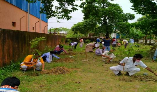बिहार पृथ्वी दिवस पर धरती को बचाने का संकल्प, पूरे राज्य में लगाए जा रहे पौधे