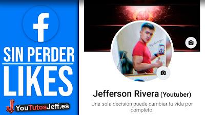 foto de perfil sin perder likes facebook
