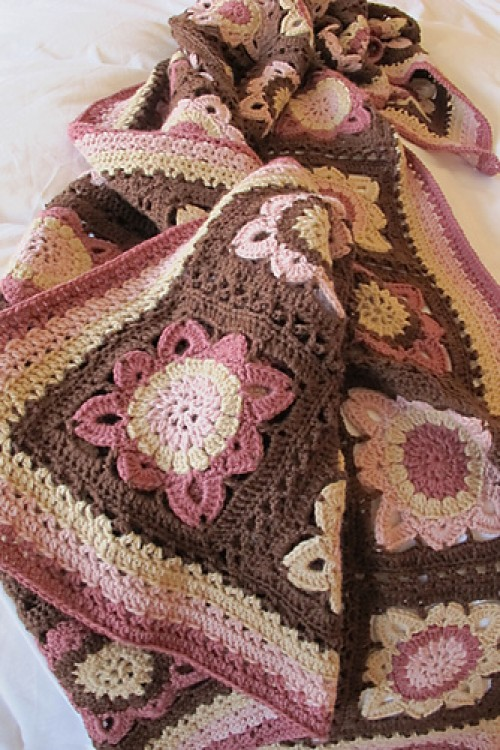 Autumn Blanket - Free Pattern
