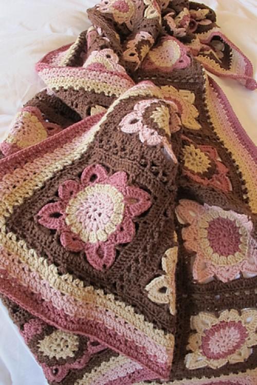Autumn Blanket - Free Pattern