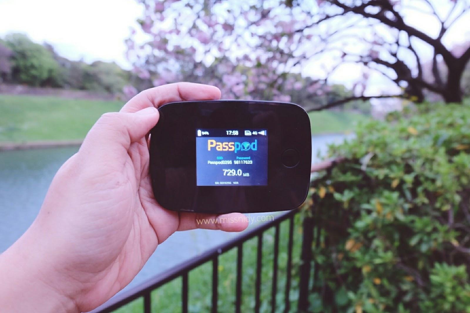 pengalaman sewa modem passpod.id